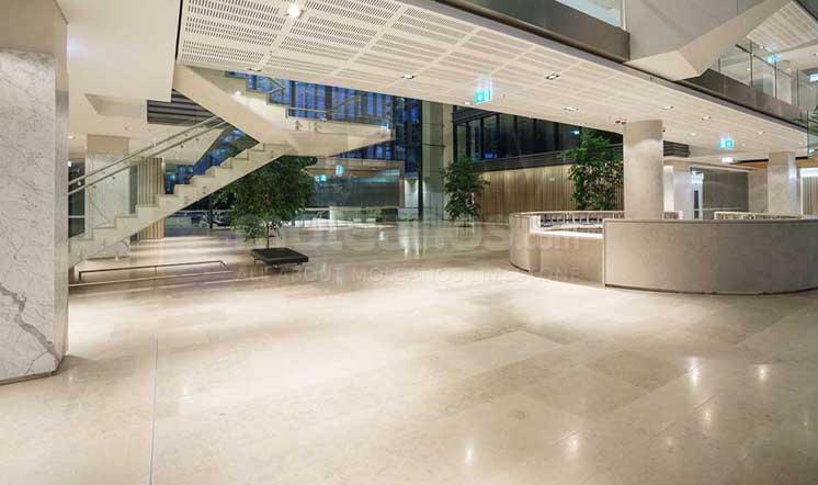 Moleanos limestone flooring