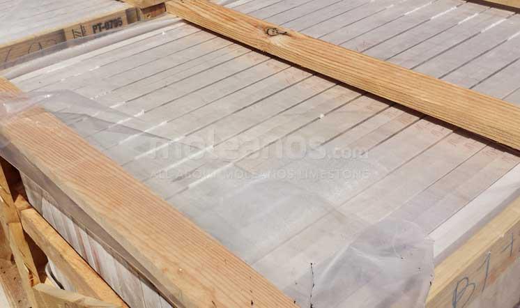 Moleanos limestone packaging