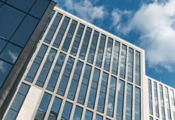 Krasina Business Center limestone cladding